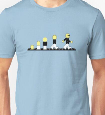 Evolution of lego man Unisex T-Shirt