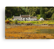 The Craignure Inn Canvas Print