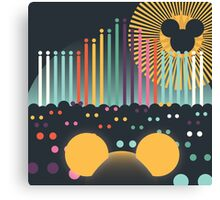 World of Color Canvas Print