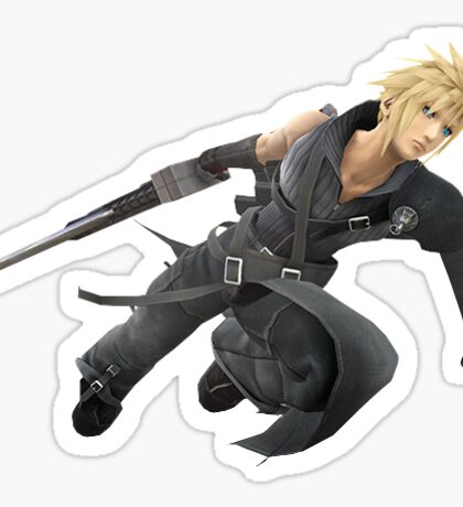 Cloud Strife - Smash 4 Sticker