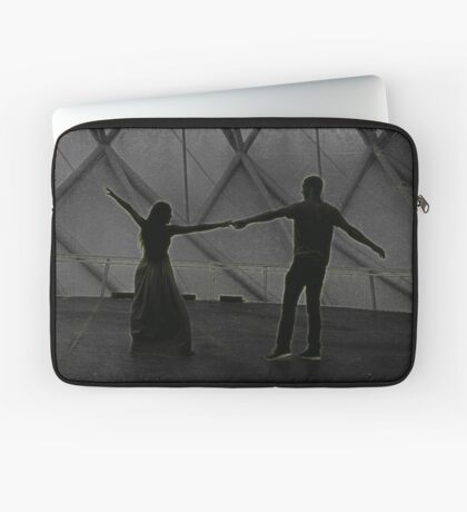 Love joined by hands.  Laptop Sleeve