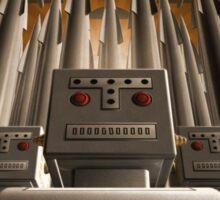 Robot Crest Sticker