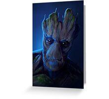 I am Groot Greeting Card
