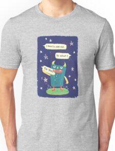the MessageEater Addicted Unisex T-Shirt