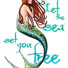 Mermaid: Let the sea set you free by SamNagel