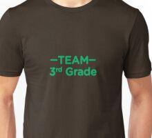 Team 3rd Grade Teacher Back To School Unisex T-Shirt