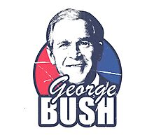 George Bush is funny Photographic Print