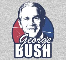 George Bush is funny by Onevisualeye