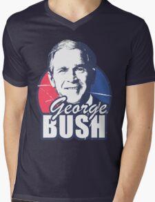George Bush is funny Mens V-Neck T-Shirt