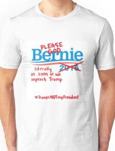 Bitter About Bernie  Unisex T-Shirt