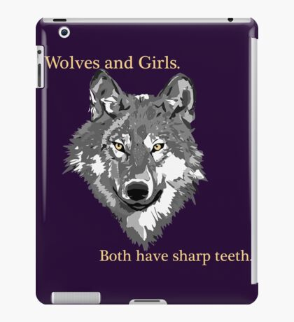Wolves and Girls iPad Case/Skin