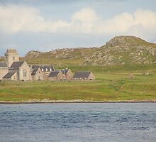 Iona Abbey from Fionnphort by Jonathan Cox