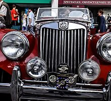 MG vintage car by Tony Swinton