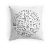 Pet's lovers Throw Pillow