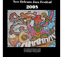 2008 New Orleans Jazz Fest Poster Photographic Print