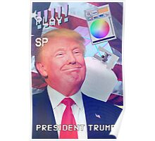 TRUMP AESTHETIC Poster
