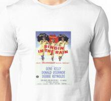 Singin' In The Rain Classic Movie Poster Unisex T-Shirt