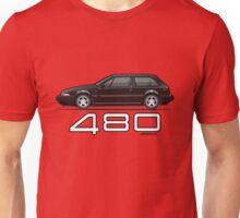 Volvo 480 (black) Unisex T-Shirt