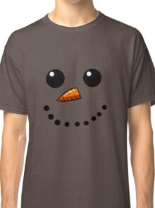 Snow Man Face 1 Classic T-Shirt