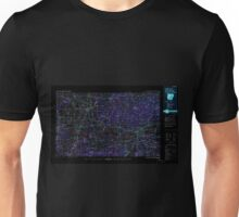 USGS TOPO Map Arkansas AR Fort Smith 260590 1978 250000 Inverted Unisex T-Shirt