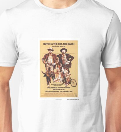 Butch Cassidy and the Sundance Kid Classic Movie Poster Unisex T-Shirt