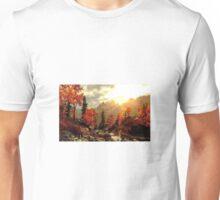Nature Fall Mountains Unisex T-Shirt