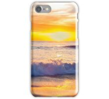 Sailboat Gliding By Marine Street Beach, La Jolla, California iPhone Case/Skin