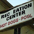 Hot Dogs & Pool by John Ayo