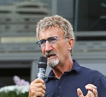 Eddie Jordan at the Southampton Boat Show 2014 by Keith Larby