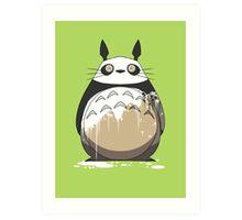 Totoro Painting Panda Art Print