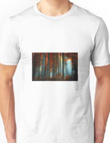 Nature Fall Forest Unisex T-Shirt