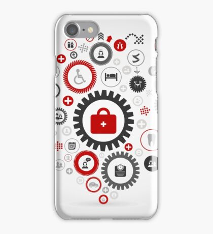 Medicine gear wheel iPhone Case/Skin