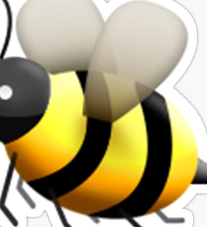 Emoji Bee Sticker