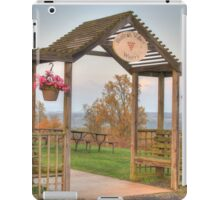 Hunters Valley Winery iPad Case/Skin