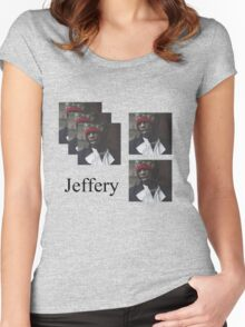 Young Thug - No, my name is Jeffery Women's Fitted Scoop T-Shirt