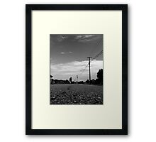 Into theDistance Framed Print