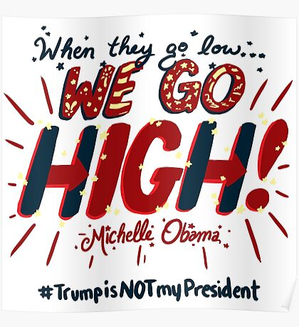 We Go High! Poster