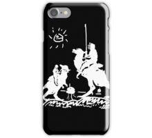 Han Quixote (dark shirt) iPhone Case/Skin