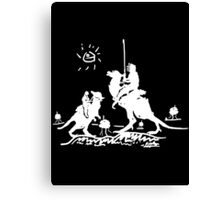 Han Quixote (dark shirt) Canvas Print