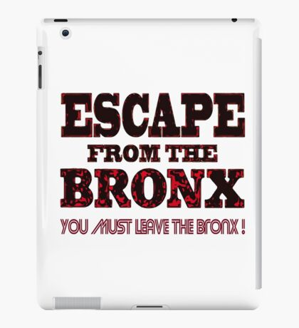 Escape From The Bronx - V2 iPad Case/Skin