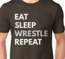Eat Sleep Wrestle Repeat Unisex T-Shirt