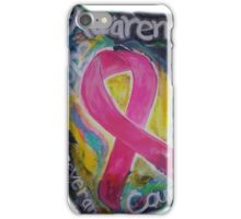 Abstract Breast cancer iPhone Case/Skin