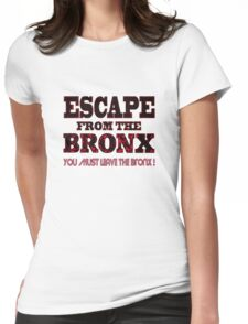 Escape From The Bronx - V2 Womens Fitted T-Shirt