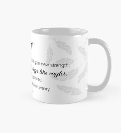 Like Wings on Eagles...Isaiah 40-31 Mug