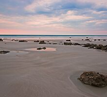 cable beach low tide rocks by Elliot62
