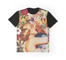 Floral Bed Graphic T-Shirt