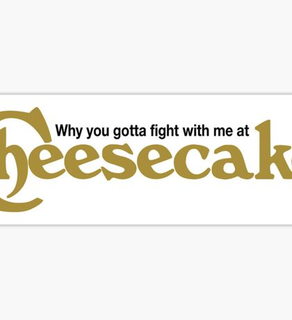 cheesecake Sticker