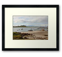Iona from Fionnphort Framed Print