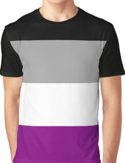 Asexual Pride Flag Graphic T-Shirt