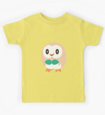 Rowlet - Pokemon Sun and Moon Kids Tee